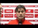 """MONTELLA: """"HA SIDO UNA DECEPCIÓN, PERO HAY QUE SEGUIR ADELANTE"""". Sevilla FC. 10/03/18"""