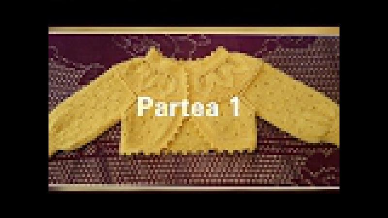 Bolero tricotat. Partea 1. Болеро спицами.