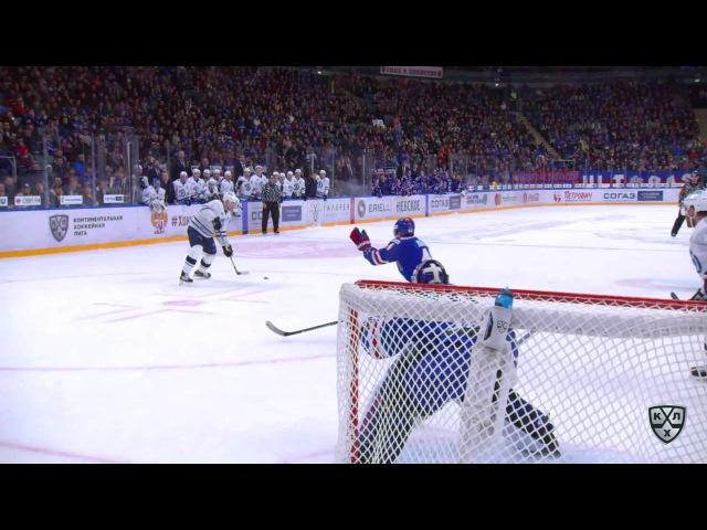 Моменты из матчей КХЛ сезона 16 17 Гол 2 3 Максим Карпов Динамо принёс москвичам первую победу в серии 08 03