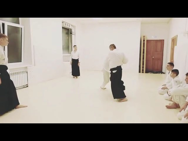 Aikido vs three punches kote gaeshi