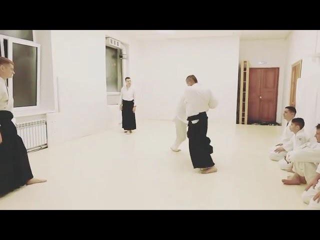 Aikido vs three punches kote gaeshi
