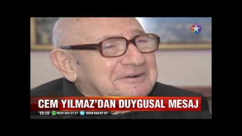 Hem Mimar Hem Gazeteci Aydın Boysana Cem Yılmazın duygusal mesajı