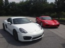 Would You Rather? Ferrari 360 Modena vs. Porsche Cayman S