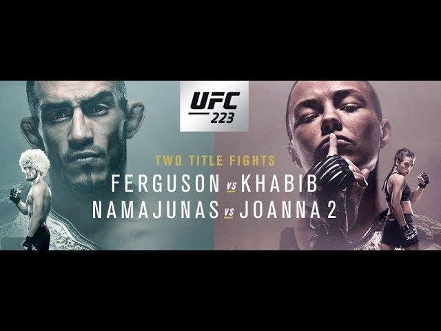 NAMEJUNAS/Jedrzejczyk KHABIB NURMAGOMEDOV VS TONY FERGUSON HIGHLIGHTS PREVIEW PROMO HD 2018 UFC 223 namejunas/jedrzejczyk khabib