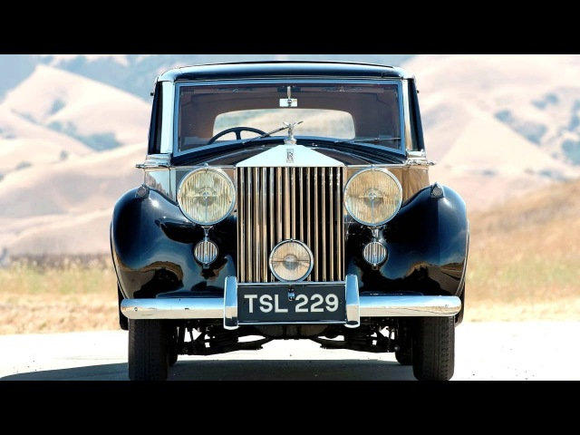 Rolls Royce Silver Wraith Sedanca de Ville by Mulliner '1948