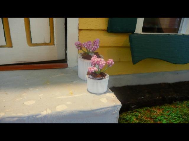 Dollhouse Miniature Plant Pot