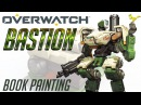 OVERWATCH BASTION Book painting