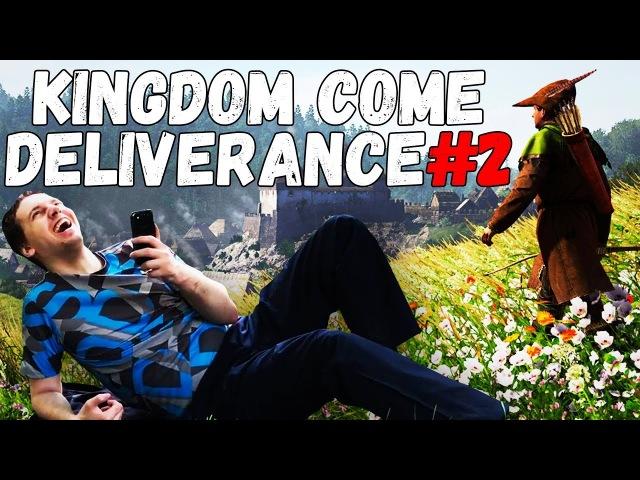 Папич играет в Kingdom Come: Deliverance! 2 ПОХОРОНИТЬ МАТЬ!