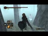 Dark Souls 2 - Untextured child Shanalotte in Shaded Woods