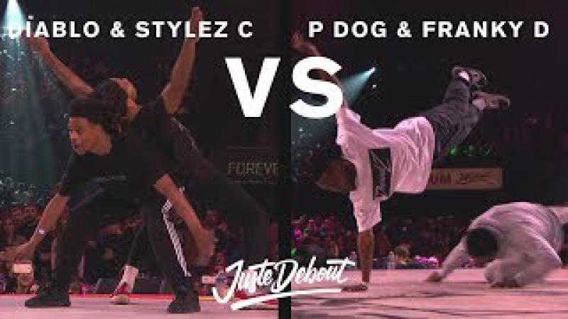 Diablo Stylez C vs P Dog Franky D - Juste Debout 2017