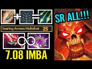 ACE Clinkz Bloodthrone Nullifier Infinite IMBA BUILD Of Pro Dota 2
