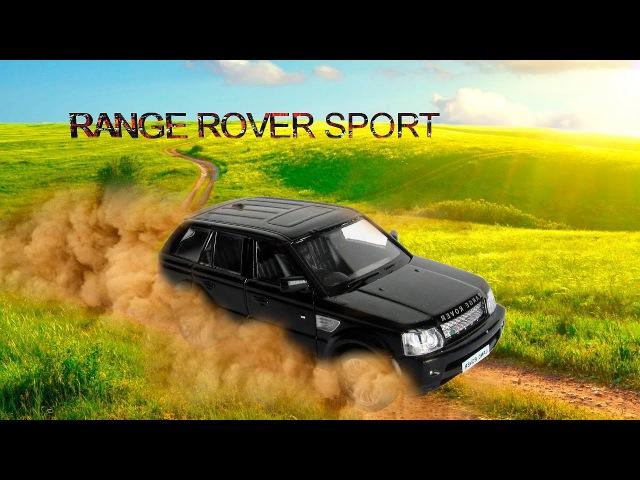 Машинка RANGE ROVER SPORT RMZ City со звуковыми и световыми эффектами