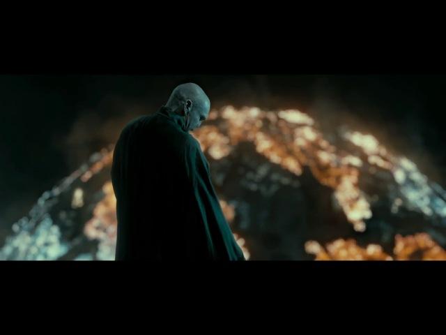 Гарри Поттер и Дары Смерти:Часть 2.Гермиона и Рон уничтожают крестраж.Егеря попа ...