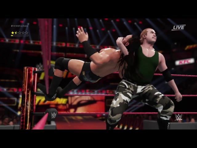 WWE 2K18 прохождение my player (Карьера) часть 6 Fastlane