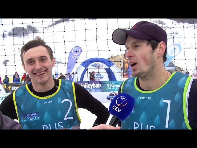 Snow Volleyball - Roccaraso Winning Moments and Reactions