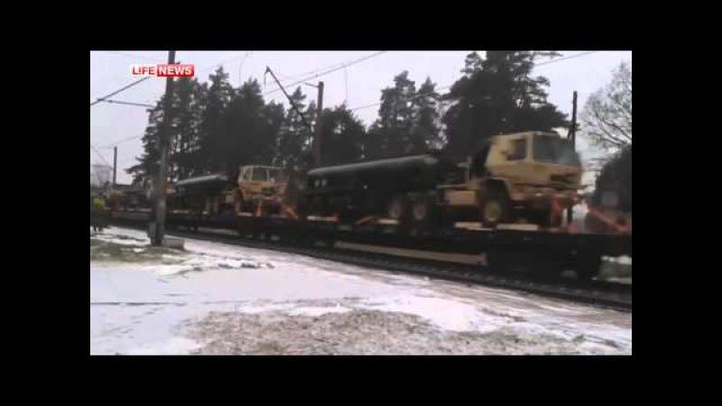 US Panzer in Lettland US tanks in Latvia