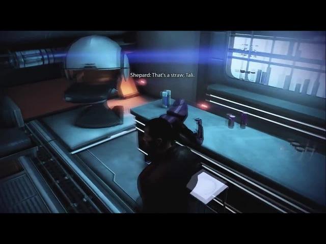 Mass Effect 3 - Emergency Induction Port (Tali's Drunkeness)