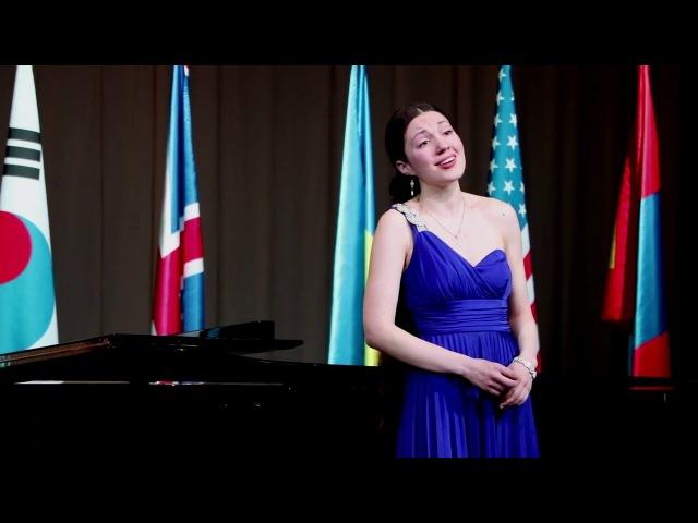 Anna El-Khashem (soprano), Dmitrii Miachin (piano) 1st prize 2016 1 Round