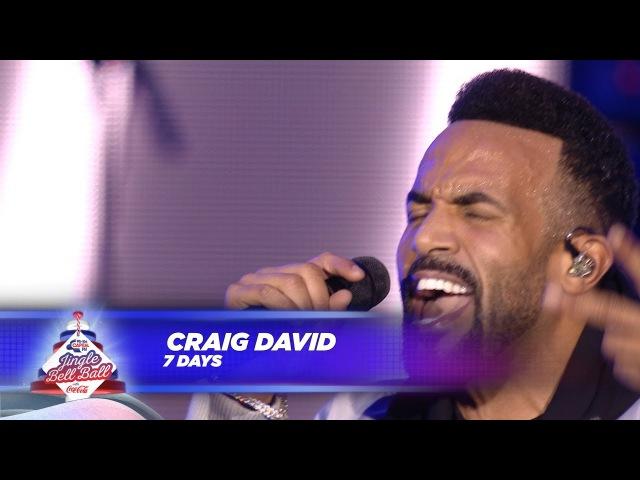 Craig David '7 Days' Live At Capital's Jingle Bell Ball 2017
