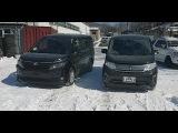 В чём разница Почему в РФ это невозможно, Toyota Voxy vs Honda Stepwgn