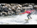 Kai Lenny and the rapids of the Yellowstone River.