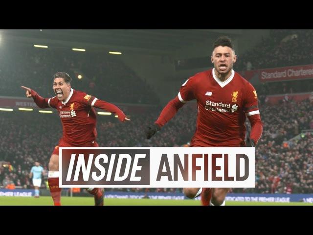 Inside Anfield: Liverpool 4-3 Man City   Unseen tunnel cam from seven-goal thriller