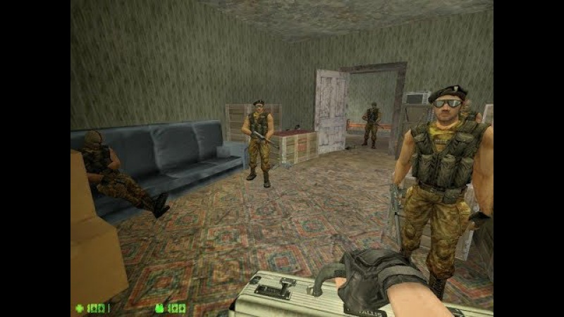 Counter-StrikeCondition Zero Deleted Scenes - Разнос Наркобарона №9 *GGT*