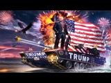 Donald Trump's Tank of FREEDOM