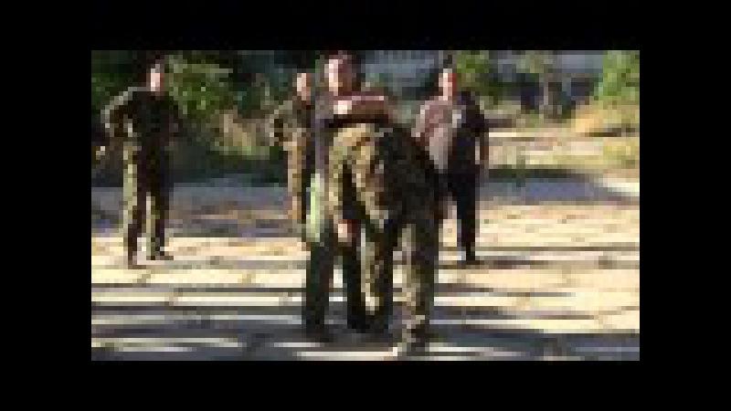 Болевой на шею . Русский стиль - система рукопашного боя .Соловьёв А.А . Крым