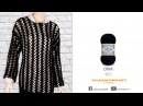 Alize Diva ile Tığ İşi Bluz Yapımı Making Crochet Work Blouse with Alize Diva