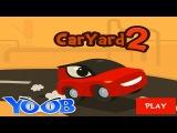 Car Yard 2 Приключения красной машинки по имени Чак игровой мультфильм для детей
