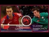 Table Tennis  Simon GAUZY Vs Vladimir SAMSONOV  FINAL Australian Open 2017  Match Highlights