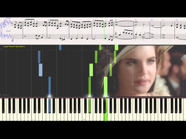 Deborah's Theme (Once Upon a Time in America)Ennio Morricone (piano cover)(Ноты для фортепиано)
