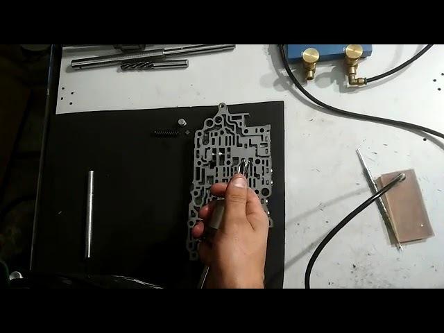 Ремонт гидроблока U660E/F TOYOTA LEXUS