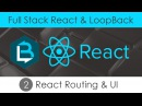 Full Stack React LoopBack 2 - React, Routing and UI