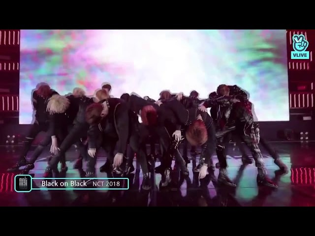[V LIVE] Black On Black - NCT (@NCT 2018 EMPATHY SHOWCASE)