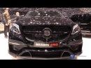 2017 Mercedes Benz GLE 63 S AMG BRABUS 850 - Exterior Interior Walkaround - 2017 Geneva Motor Show