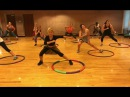 PUMP Valentino Khan Dance Fitness Workout with Weighted Hula Hoops Valeo Club