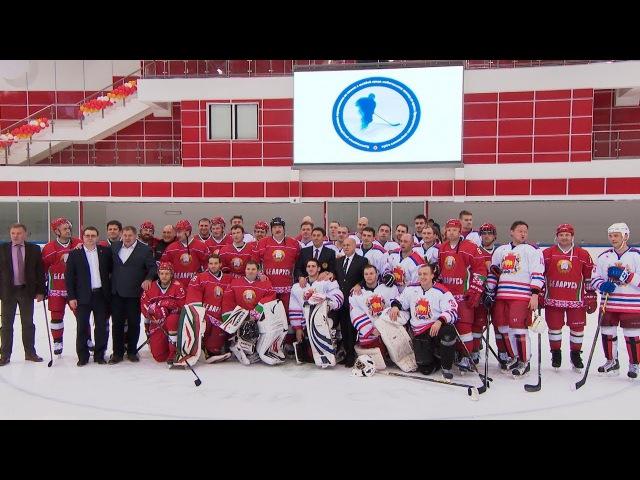 Хоккейная команда Президента обыграла соперников из Гродненской области