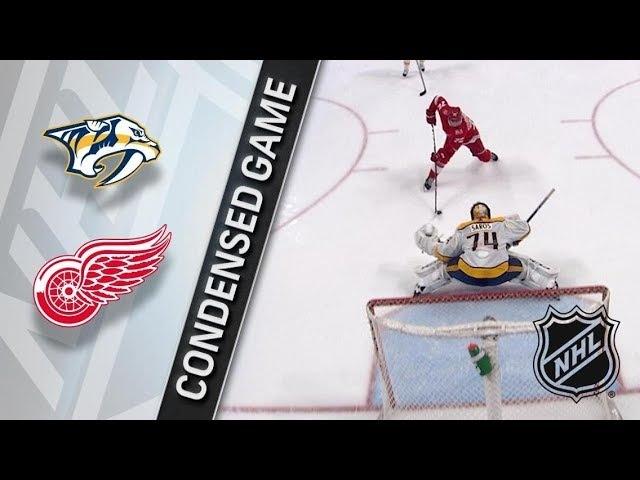 Nashville Predators vs Detroit Red Wings – Feb. 20, 2018