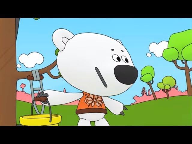 Раскраска с Ми-ми-мишками - Как лечить деревья - серия 7 - учим цвета с малышами