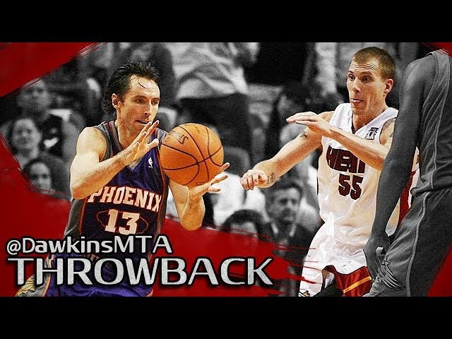 Steve Nash vs Jason Williams NASTY Duel 2007.11.09 - J-Will With 21-10, CLUTCH Nash With 30-8!