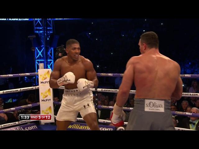 Anthony Joshua vs Wladimir Klitschko | Heavyweight Boxing | April 2017