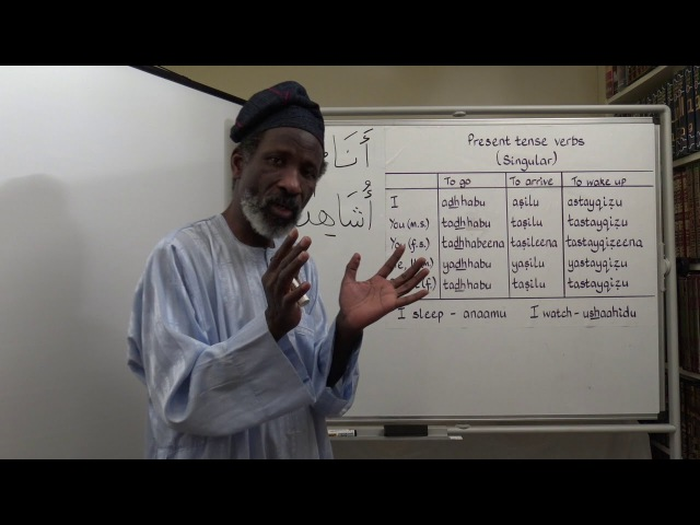 Let's Speak Arabic Unit Two, Lesson 8: Daily Routine Vocabulary