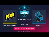 Natus Vincere vs NewBee, ESL One Katowice, game 1 [Maelstorm, LighTofHeaveN]