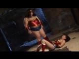Wonder Lady vs Evil wonder Lady superheroine
