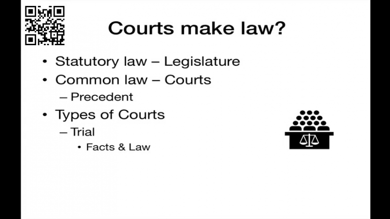 Introduction to the American Judicial System YouTube 1