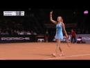 2017 Porsche Tennis Grand Prix Final _ Laura Siegemund vs Kristina Mladenovic _ (2)