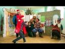 Новогоднее_представление со спектаклем Волшебное кольцо в детском_саду д. ОКУНЕВО Омской_области, часть 1.