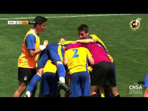 Resumen Selección Andaluza 5 - 3 Valenciana Sub 16 Masculino/ Fase Final Nacional Autonómico